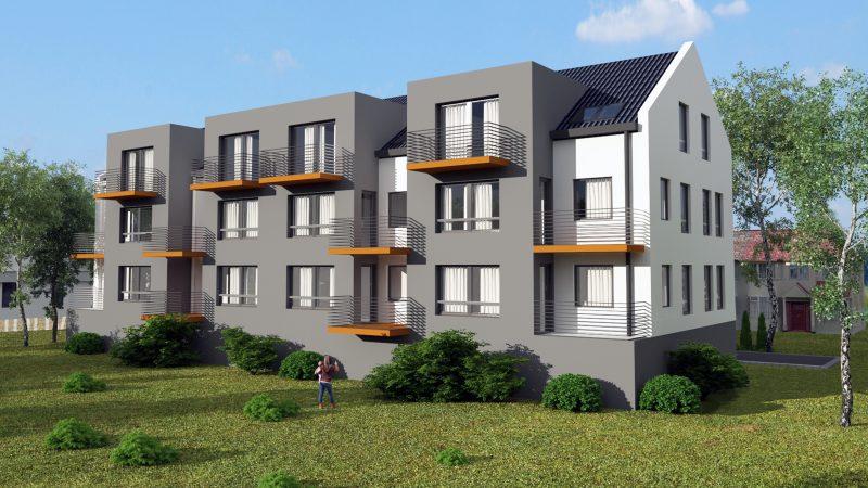 Dom z Keramzytu - Apartamenty Kedywu w Legnicy