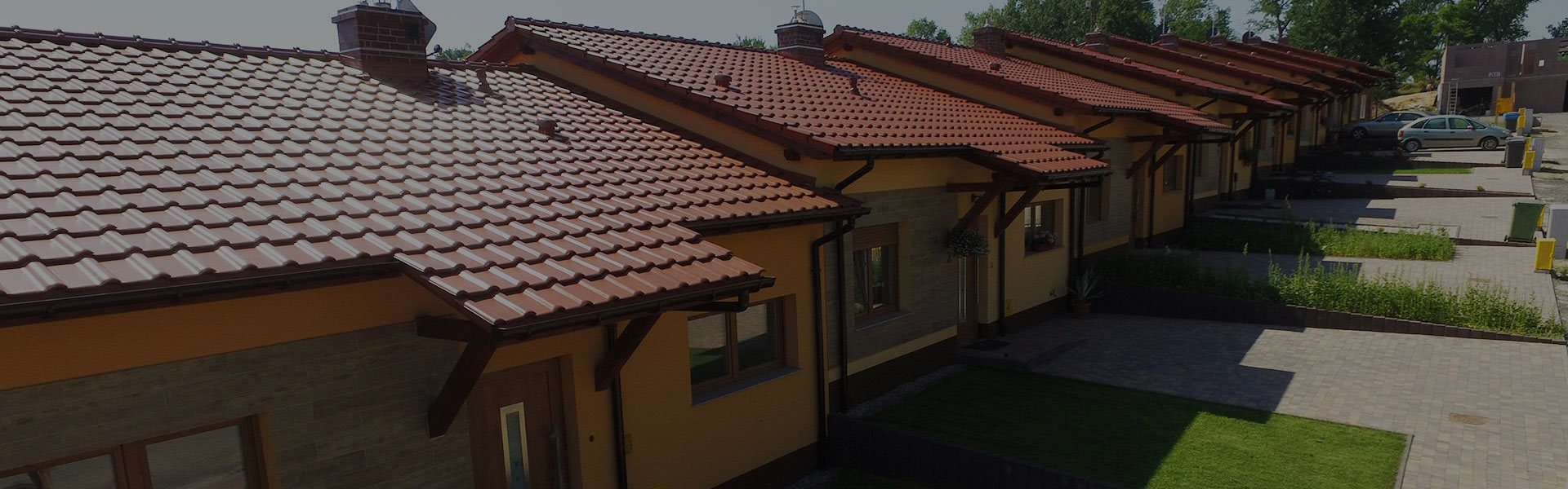 Dom z Keramzytu - budowa domów w zabudowie szeregowej