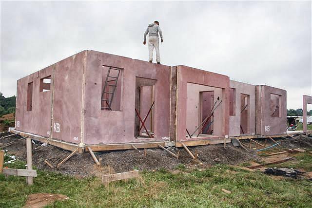 Domki w zabudowie szeregowej - Lubań