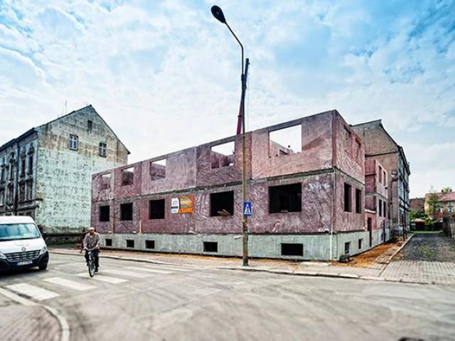 Chojnów - budynek wielorodzinny - ul. Kościuszki