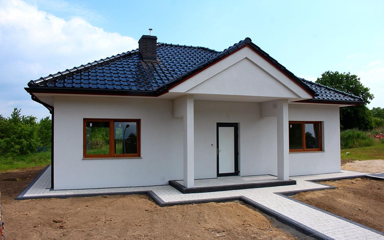 Chojnów, domek jednorodzinny przy ul. Wrzosowej