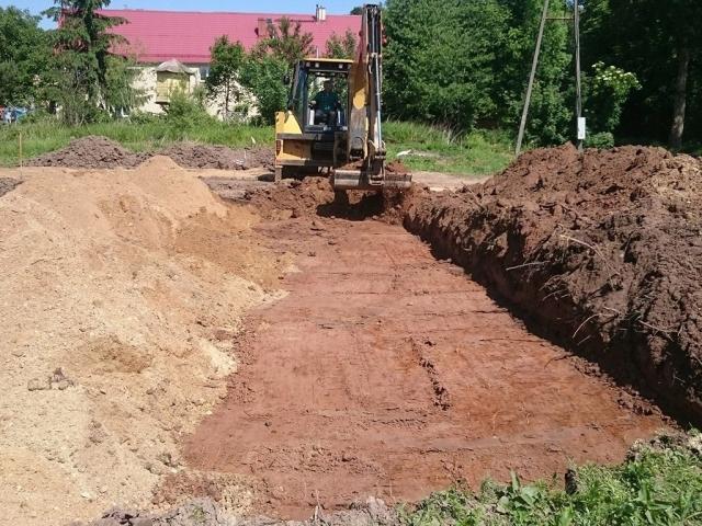 Inwestycja w miejscowości Proboszczów