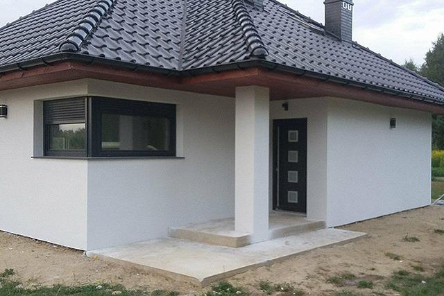 dom jednorodzinny z keramzytu w sycowie