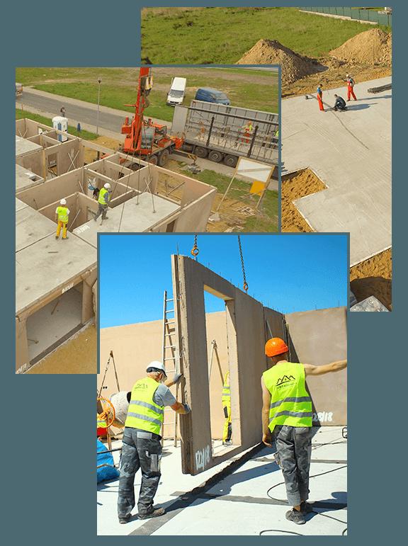 etapy budowy domu z keramzytu
